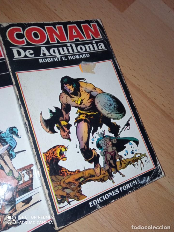 Cómics: Lote novelas Conan editorial Fórum - Foto 2 - 272078343