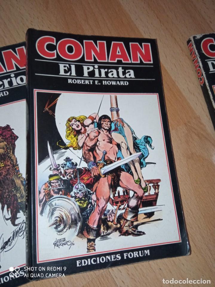 Cómics: Lote novelas Conan editorial Fórum - Foto 3 - 272078343
