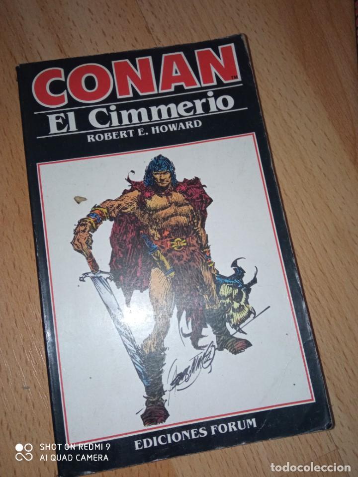 Cómics: Lote novelas Conan editorial Fórum - Foto 4 - 272078343
