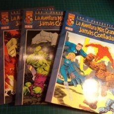 Comics : LOS 4 FANTASTICOS. LA AVENTURA MAS GRANDE JAMAS CONTADA. COMPLETA. 3 NUMEROS. FORUM. MBE. (S-B). Lote 272129833