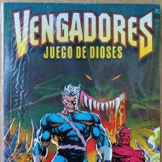 Cómics: VENGADORES: JUEGO DE DIOSES DE BOB HARRAS, TERRY KAVANAGH, MIKE DEODATO JR.. Lote 272138703