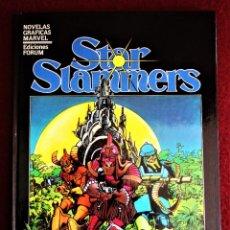 Cómics: STAR SLAMMERS NOVELA GRÁFICA MARVEL Nº 4 FORUM 1984 WALTER SIMONSON EXCELENTE. Lote 272243303