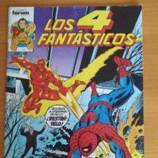 Comics : LOS 4 FANTASTICOS Nº 4 - FORUM (S). Lote 272366928