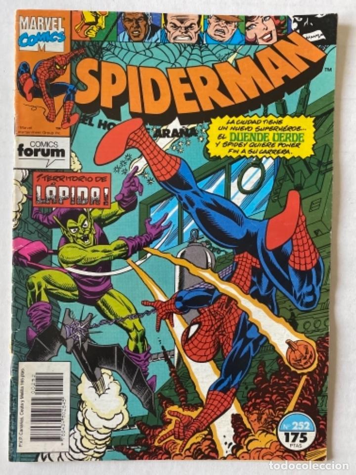 SPIDERMAN #252 VOL.1 FÓRUM 1ª EDICIÓN (Tebeos y Comics - Forum - Spiderman)