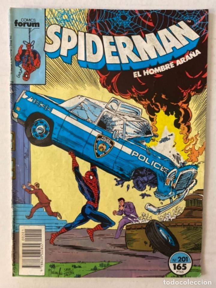 SPIDERMAN #201 VOL.1 FÓRUM 1ª EDICIÓN (Tebeos y Comics - Forum - Spiderman)