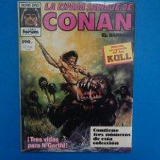 Cómics: COMIC DE LA ESPADA SALVAJE DE CONAN EL BARBARO AÑO 1987 Nº 133-134-135 DE COMICS FORUM LOTE 33 C. Lote 272557468