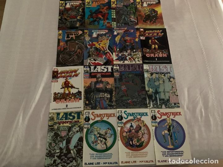 Cómics: Epic Presents Completa: Marshal Law / Iron Crash / The Last American / Starstruck. 15 números + - Foto 2 - 272763263
