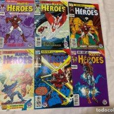 Cómics: IRON MAN: STARK WARS. COMPLETA. 6 NÚMEROS (MARVEL HÉROES Nº 54 A 59). Lote 272764763