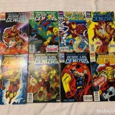 Cómics: IRON MAN: DESDE LAS CENIZAS SERIE DE 8 NÚMEROS. Lote 272768048