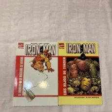 Cómics: IRON MAN: EL HOMBRE DE LA MÁSCARA DE HIERRO Y LOS HIJOS DE YINSEN. Lote 272773603