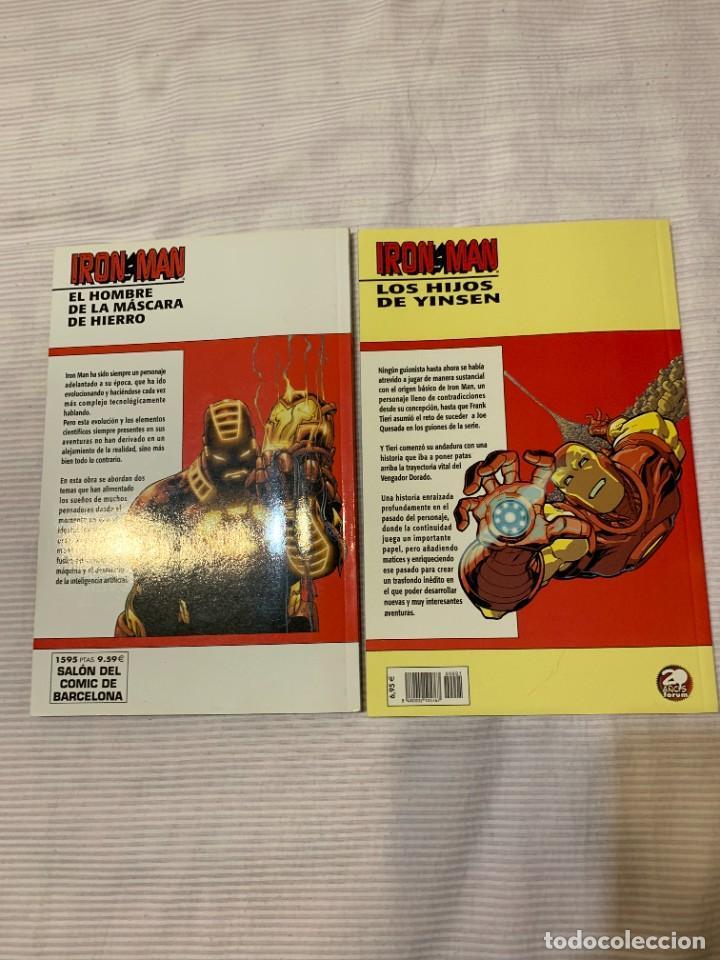 Cómics: Iron Man: El hombre de la máscara de hierro y Los hijos de Yinsen - Foto 2 - 272773603