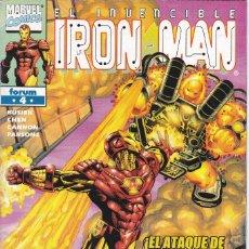 Cómics: IRON MAN - VOL 4 - Nº 4 - ¡PROBLEMAS EN EL PARAÍSO! - FORUM -. Lote 272996718