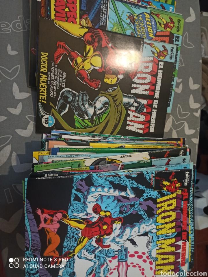 Cómics: Iron Man el hombre de hierro volumen 1 forum 58 números completa muy buen estado - Foto 2 - 273456733