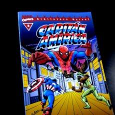 Cómics: EXCELENTE ESTADO CAPITAN AMERICA 8 BIBLIOTECA MARVEL EXCELSIOR COMICS FORUM. Lote 273907958