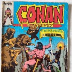 Cómics: CONAN EL BÁRBARO VOL1 #21 «MUY RARO» FÒRUM 1ª EDICIÓN. Lote 274172843