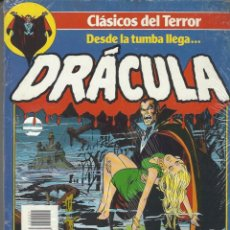 Cómics: DESDE LA TUMBA LLEGA… DRACULA - CLASICOS DEL TERROR - RETAPADO NºS 1 AL 5 - BUEN ESTADO !!. Lote 274188783