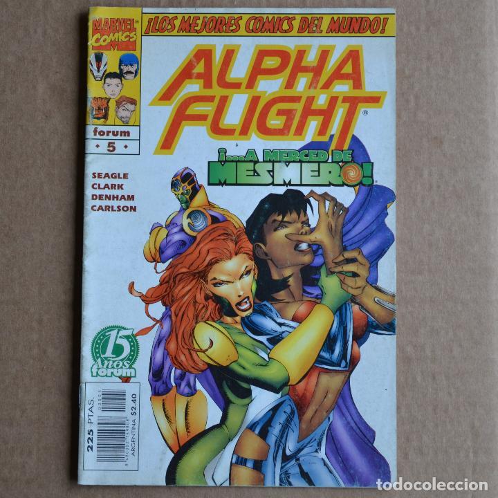 ALPHA FLIGHT, Nº 5. FORUM. LITERACOMIC. (Tebeos y Comics - Forum - Alpha Flight)