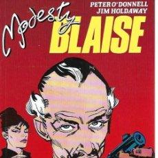Cómics: MODESTY BLAISE, COLECCIÓN COMPLETA, RETAPADO CON LOS NÚMEROS 1 AL 7. Lote 274399573