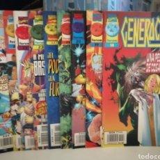 Cómics: GENERACION X 10 COMICS DEL 18 AL 27 MARVEL FORUM. Lote 274706723