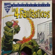 Fumetti: BIBLIOTECA MARVEL: LOS 4 FANTÁSTICOS -COMPLETA. Lote 274729643