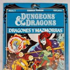 Cómics: COMICS NUMEROS 1 EDITA COMICS FORUM. 14 EJEMPLARES. Lote 274852588