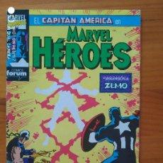 Cómics: MARVEL HEROES Nº 53 - CAPITAN AMERICA - FORUM (FW). Lote 274865148