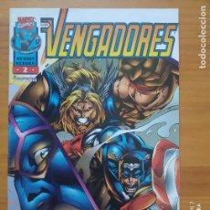 Comics: LOS VENGADORES Nº 2 - HEROES REBORN - MARVEL - FORUM (FW). Lote 274865798