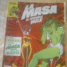 Cómics: LA MASA. Nº 26 . BRUGUERA. CORDIALMENTE EL HOMBRE DE ARENA. Lote 275064053