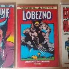 Comics : LOBEZNO X-MEN, TRES ESPECIALES, SAGAS COMPLETAS! LEER DESCRIPCIÓN. Lote 275224633