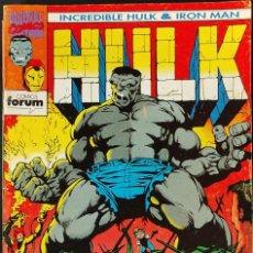 Cómics: COLECCION COMPLETA - INCREIBLE HULK & IRON MAN - Nº 1 AL Nº 9 -. FORUM -. Lote 275274578