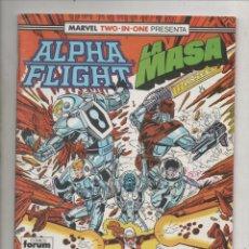 Cómics: MARVEL TWO-IN-ONE PRESENTA ALPHA FLIGHT Y LA MASA VOL. 1 Nº 49 - FORUM. Lote 275312158