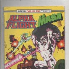 Cómics: MARVEL TWO-IN-ONE PRESENTA ALPHA FLIGHT Y LA MASA VOL. 1 Nº 45 - FORUM. Lote 275316358