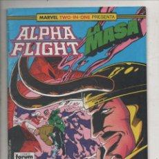 Cómics: MARVEL TWO-IN-ONE PRESENTA ALPHA FLIGHT Y LA MASA VOL. 1 Nº 44 - FORUM. Lote 275316373