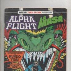 Cómics: MARVEL TWO-IN-ONE PRESENTA ALPHA FLIGHT Y LA MASA VOL. 1 Nº 50 - FORUM. Lote 275316808