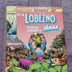 Comics : WHAT IF Nº 16 DEDICADO A LOBEZNO. Lote 275485378