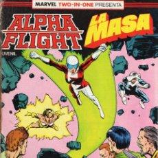 Comics: ALPHA FLIGHT VOL. 1 Nº 39 - FORUM - PROCEDE DE RETAPADO - SUB02Q. Lote 275506408