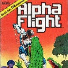 Comics: ALPHA FLIGHT VOL. 1 Nº 38 - FORUM - ESTADO NORMAL - SUB02Q. Lote 275506893