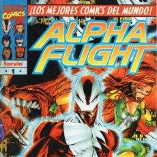 Comics: ALPHA FLIGHT VOL. 2 Nº 1 - FORUM - ESTADO NORMAL - SUB02Q. Lote 275507188