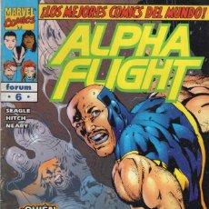 Comics: ALPHA FLIGHT VOL. 2 Nº 6 - FORUM - ESTADO NORMAL - SUB02Q. Lote 275508553