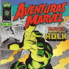 Comics : AVENTURAS MARVEL Nº 1 - FORUM - MUY BUEN ESTADO - SUB02Q. Lote 275511733