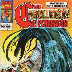 Comics : LOS CABALLEROS DE PENDRAGON Nº 3 - FORUM - BUEN ESTADO - SUB02Q. Lote 275512668