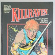 Cómics: GREGOR, DON MC - CRAIG RUSSELL, P. - KILLRAVEN. EL GUERRERO DE LOS MUNDOS - BARCELONA 1985. Lote 275531878