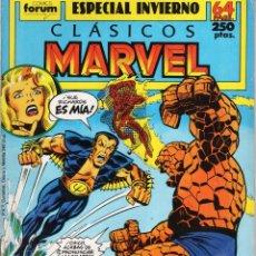 Comics : CLASICOS MARVEL ESPECIAL INVIERNO 1989 - FORUM - ESTADO NORMAL - SUB02Q. Lote 275541888