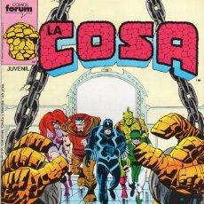 Comics : LA COSA Nº 2 - FORUM - BUEN ESTADO - SUB02Q. Lote 275596453
