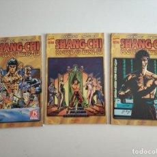 Comics : COMICS SHANG-CHI MASTER OF KUNG-FU LOS 3 NUMEROS 1 - 2 Y 3, COMPLETA FORUM AÑO 1998. Lote 275840478