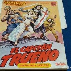 Comics : COMICS FORUM RETAPADO 1 AL 5 SERIE ROJA CAPITÁN TRUENO TOMO 1 AVENTURAS BIZARRAS 1987 - VÍCTOR MORA. Lote 275988768