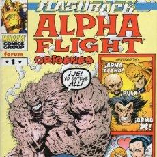 Comics: ALPHA FLIGHT ORIGENES Nº 1 - FORUM - SUB02M. Lote 275996373