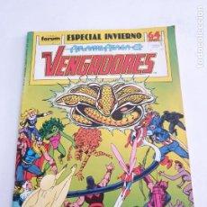 Cómics: LOS VENGADORES ESPECIAL INVIERNO ESTADO BUENO MAS ARTICULOS NEGOCIABLE. Lote 276011028
