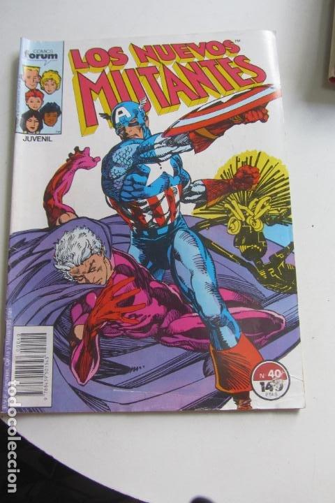 LOS NUEVOS MUTANTES VOL I Nº 40 FORUM MUCHOS MAS A LA VENTA, MIRA TUS FALTAS ARX107 (Tebeos y Comics - Forum - Nuevos Mutantes)