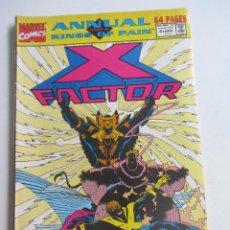 Cómics: X FACTOR , ANNUAL KINGS OF PAIN 1991 ORIGINAL MARVEL MUCHOS MAS A LA VENTA, MIRA TUS FALTAS ARX107. Lote 276022313